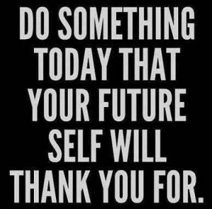 Do something for the future