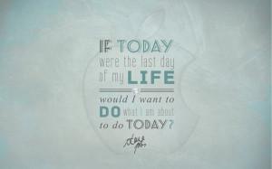 Steve Jobs Quote Wallpaper by CherokeeLove on deviantART