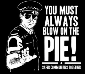 famous quote in new zealand that was said by a policeman