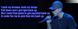Eminem Quote Profile Facebook Covers