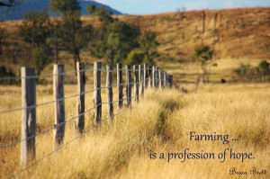 Agriculture ... my industry