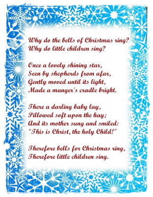 READ MORE - Christmas card poems, christmas poems for cards