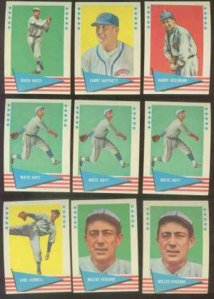 1961 Fleer #.44 Waite Hoyt Baseball cards value