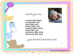 poems for new baby