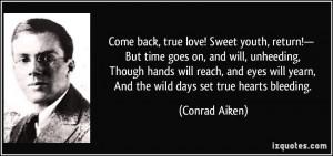 true love comes back quotes