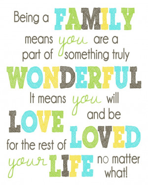 ... you will Love and be Loved for the rest of your life no matter what