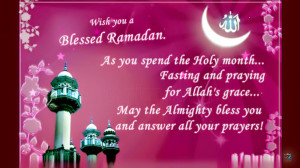 Ramadan Kareem Picture Wishes 2015