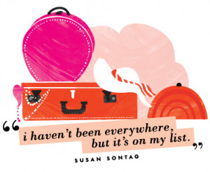 love that quote by Susan Sontag .