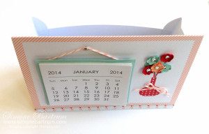 Tutorial: Stampin' Up! Sweet Sayings Calendar