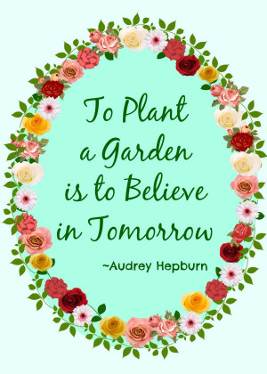 Garden Poems And Quotes