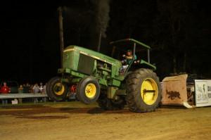 ... Tractors Class in his 4440 John Deere at Morgans Corner Truck and