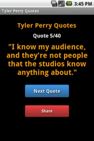 Tyler Perry Fan? Love quotes? Get the Tyler Perry quotes in your phone ...