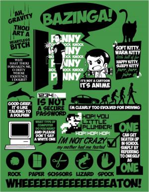 """... quotes?c=100567-big-bang-theoryFor more """"Big Bang Theory"""" tees"""