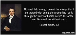 do wrong, I do not the wrongs that I am charged with doing; the wrong ...