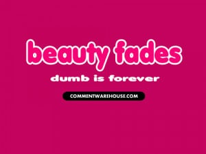 beauty fades dumb is forever pdf