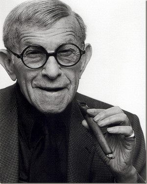George Burns ( Nathan Birnbaum) , was a comedian, actor, and writer ...