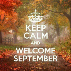 welcome september, and 4 more months to go for another beautiful ...