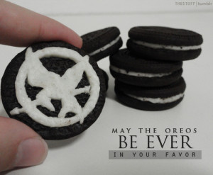 ... The Hunger Games THG hunger games Mockingjay oreos Oreos cookies