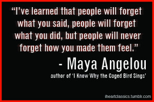 Maya Angelou Quotes Know