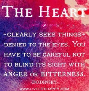 Heart quote via www.LiveLifeHappy.com