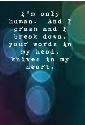 Christina Perri - Human - song lyrics, song quotes, songs, music ...
