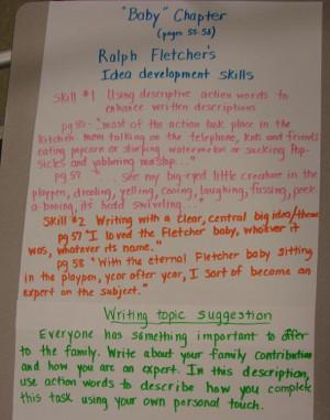 8th Grade Descriptive Writing Samples