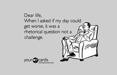 Funny Quotes About A Bad Day At Work ~ Bad Day on Pinterest