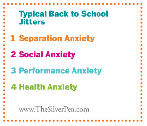 Children's Series: Coping with Back to School Jitters - Child ...