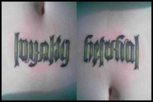 Free kanji symbol loyalty