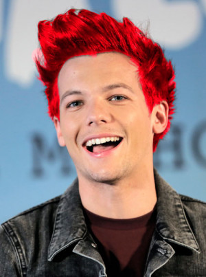 ... baking - manly and dangerous, and Louis will be dying his hair red