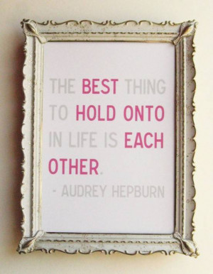 Embroidered Quotes and Vintage Frames