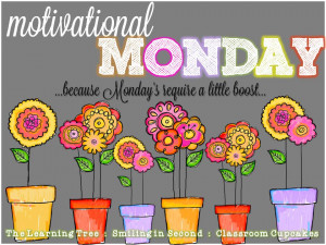 am delighted to be part of Motivational Mondays - along with The ...