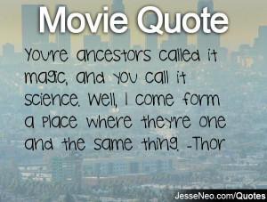 quote Thor