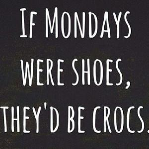 Yea. #Mondays