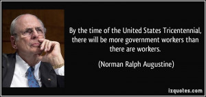 More Norman Ralph Augustine Quotes