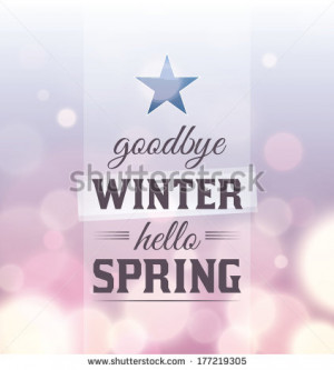 goodbye winter quotes quotesgram