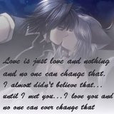 Anime Love Quote Graphics | Anime Love Quote Pictures | Anime Love ...