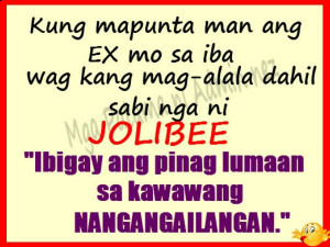 ... banat jolibee quotes papoging banat incoming search terms banat quotes