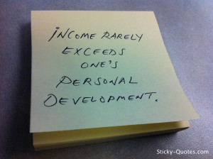 Listen to the personal development quotes below for a little ...