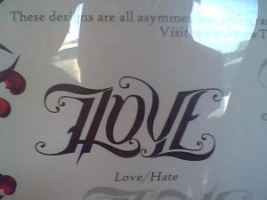 Love Cross Tattoo Design...