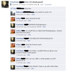 Mercial Dirty Facebook...