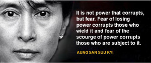 people think of fear as the emotion belonging to persecuted people ...