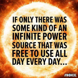 ... Captions » If only there was some kind of an infinite power source