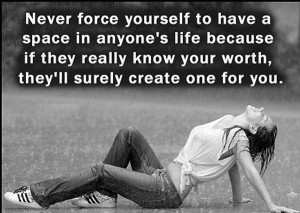 ... Quotes , Never force love Picture Quotes , Relationships Picture