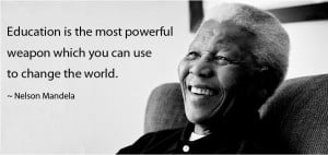 Quotes About Equality In Education ~ Mandela Quotes