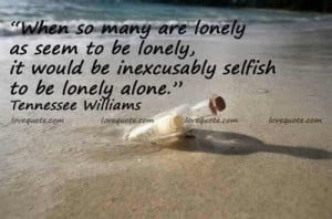 Love quotes, quotes about lonely