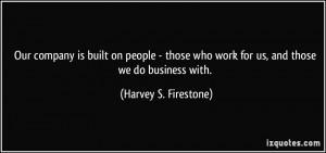 Harvey 39 s Firestone Quotes