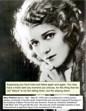 Mary Pickford #quote