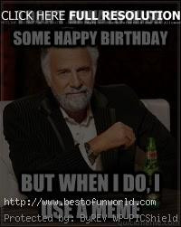 Happy birthday dos equis meme for