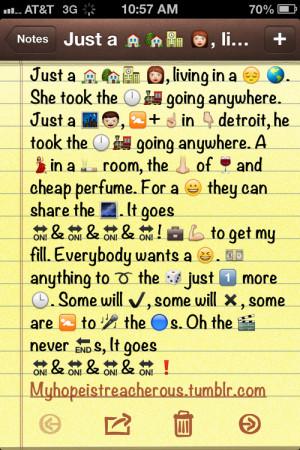 Tumblr Quotes With Emojis